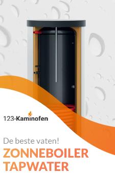 Een goede zonneboiler koopt u bij 123-Kaminofen. Ook voor een buffervat kunt u bij ons terecht!