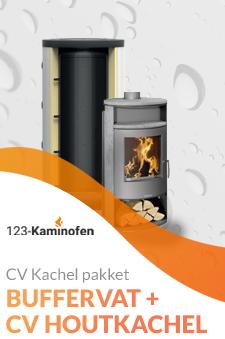 Een houtkachel op buffervat? Bij 123-Kaminofen natuurlijk beschikbaar. Bekijk de pakketten of vraag naar de mogelijkheden!