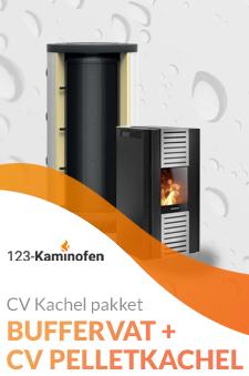 Een pelletkachel op buffervat? Bij 123-Kaminofen natuurlijk beschikbaar. Bekijk de pakketten of vraag naar de mogelijkheden!