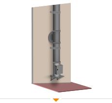 Hoe monteer ik een rookkanaal langs de gevel? Lees het op 123-Kaminofen