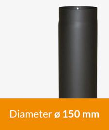 Op zoek naar een enkelwandige kachelpijp zwart of antraciet? Voor diameter 150 mm? Bij 123-Kaminofen hebben wij deze enkelwandige kachelpijp altijd op voorraad.