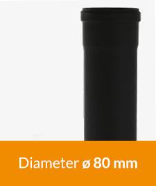 Pelletkachel enkelwandige buis kopen? Bij 123-Kaminofen veel op voorraad en snel verzonden. Bestel uw enkelwandige pelletpijp 80 mm bij ons!
