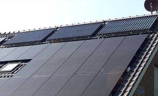 Zonneboiler installatie in Duitsland. Lees de zonneboiler ervaring van de Fam Mers bij 123-Kaminofen!