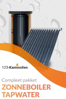 Voor een zonneboiler voor uw tapwater bent u bij 123-Kaminofen aan het juiste adres. Koop uw zonneboiler bij ons!