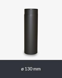 Ofenrohre - Rauchrohre - Die Rohre sind aus hochwertigem geschweißtem 2 mm Stahl gefertigt und mit Senothermlack beschichtet